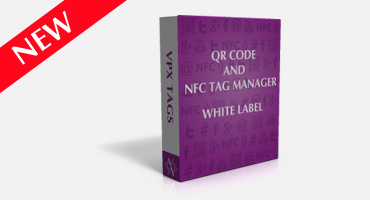 White label QR Code & NFC Tag Manager